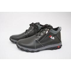 Мужские ботинки 77-3 черный юлиус
