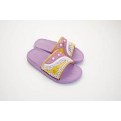 Детские шлепанцы для девочек фиолетовые ТПД02