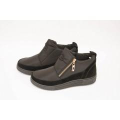 Женские ботинки 14-06 золото