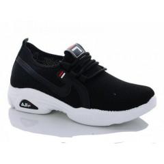 Женские кроссовки 513-1 черные