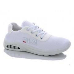 Женские кроссовки 585 белые