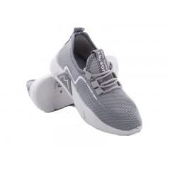 Детские кроссовки 202-7 серо-белый