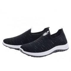Мужские кроссовки 005 черный