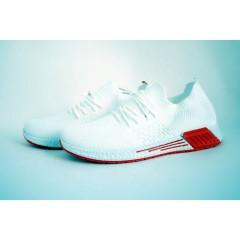 Мужские кроссовки 310-8 белые