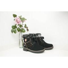 Женские ботинки 705-5 замша