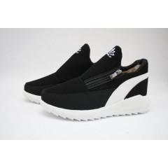 Женские ботинки Аляска черные АД34