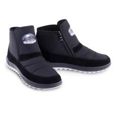 Мужские ботинки 10-07 черные