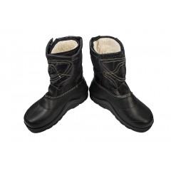 Мужские дутые сапоги Крок М7 черный
