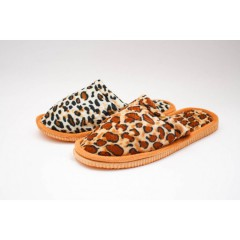 Женские тапочки 2853 Leopard