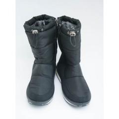 Женские дутики D-02 черные