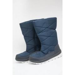 Женские дутики Д-07 синие