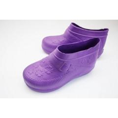Женские галоши пустые ГП06 фиолетовые