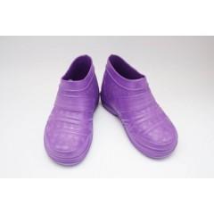 Женские галоши ГП21 пустые фиолетовые