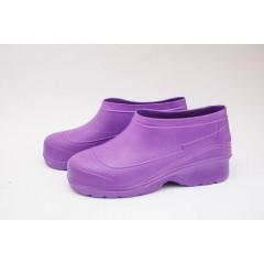 Женские галоши ГП-22 пустые фиолетовые