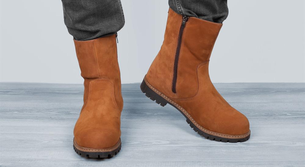 мужская обувь из нубука